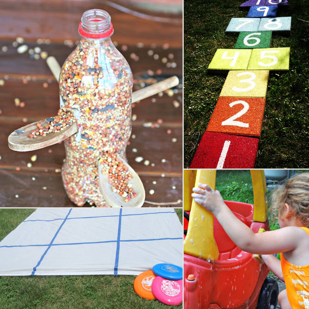 backyard activities to do and make with kids this summer popsugar