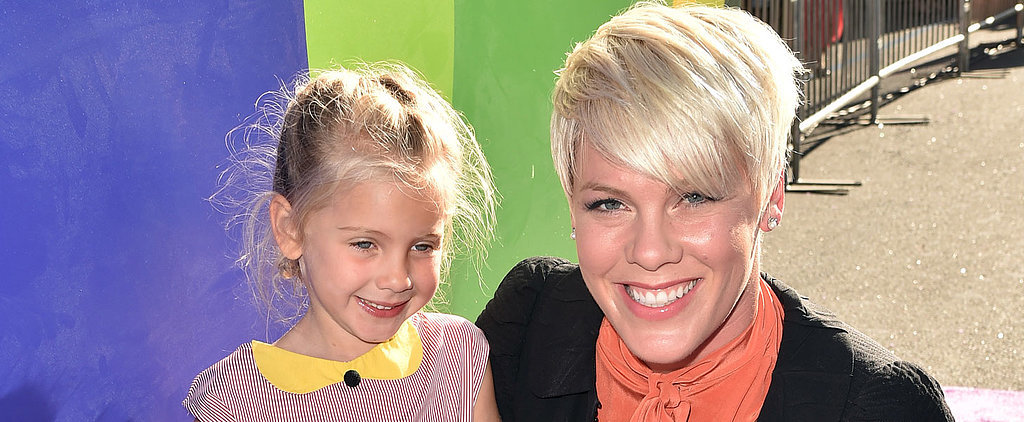 Pink's Daughter Makes Her Adorable Red Carpet Debut at the Inside Out Premiere