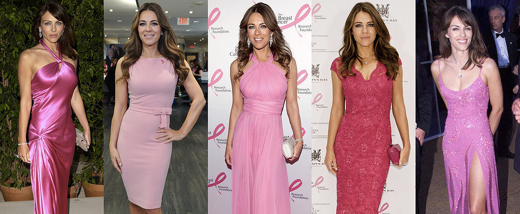 We Think We Know What Colour Elizabeth Hurley Will Wear For Her 50th Birthday Party