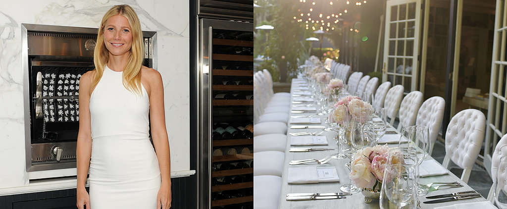 10 Classy Touches Found at a Party Thrown by Gwyneth Paltrow