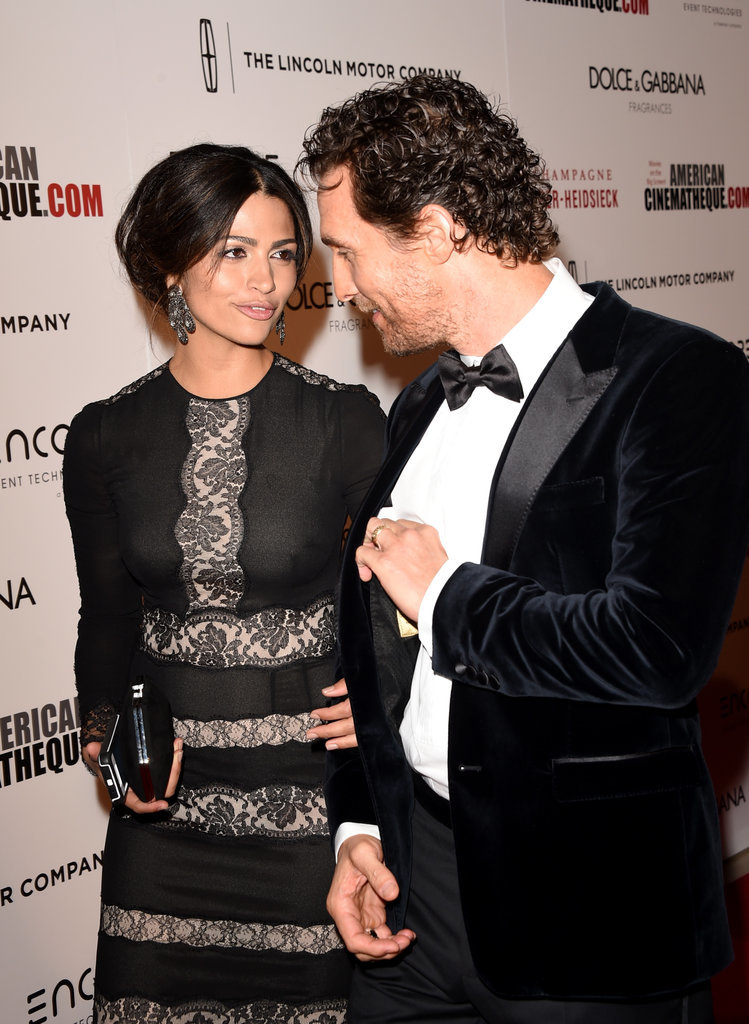 The duo shared a moment on the red carpet at an October 2014 LA event.