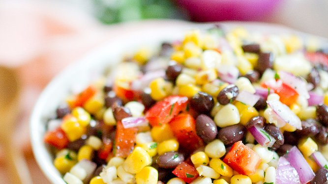 A Vegan Black Bean and Corn Salad You'll Love