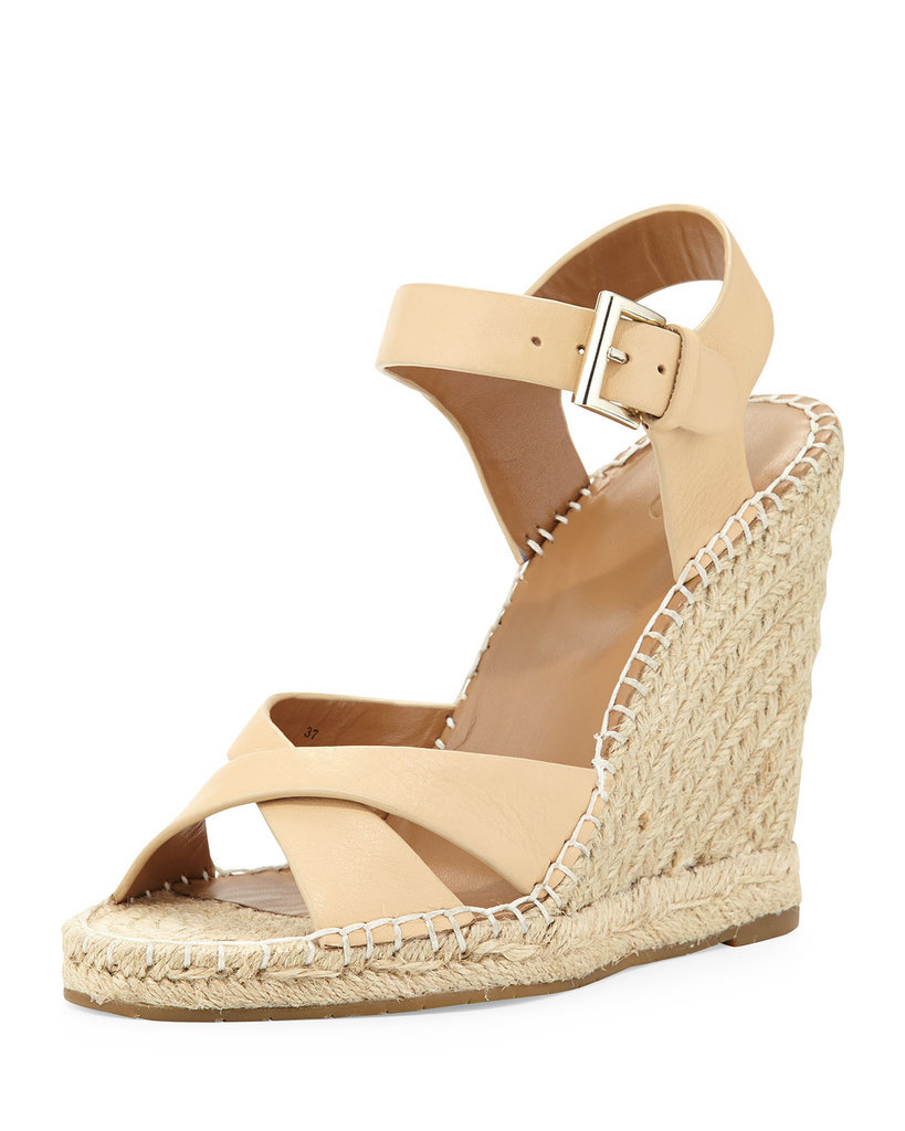Joie Leather Espadrille Sandal