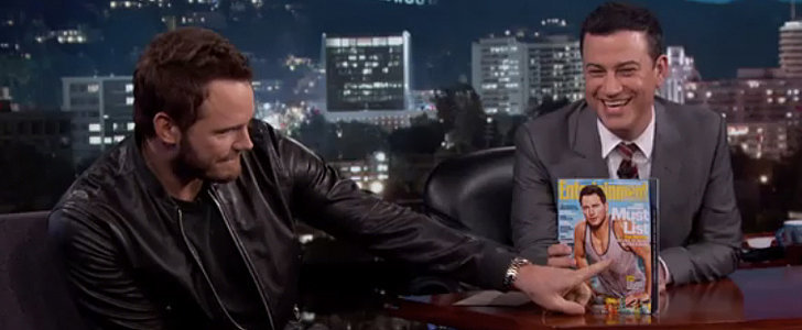 Chris Pratt Shares His Hilarious Reaction to That Nipple-Tastic Magazine Cover
