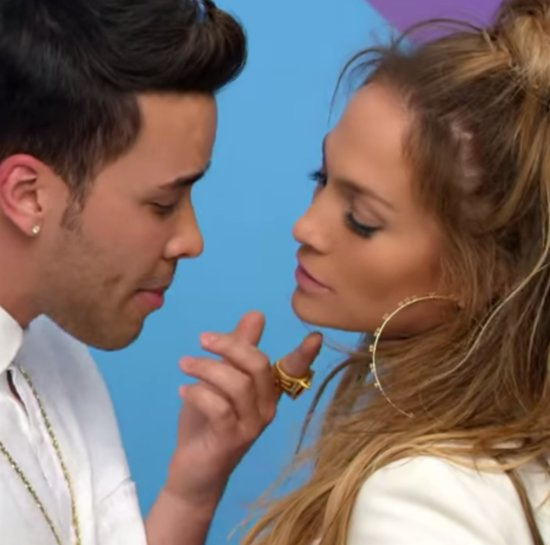 """GIFs of Jennifer Lopez and Prince Royce in """"Back It Up"""""""