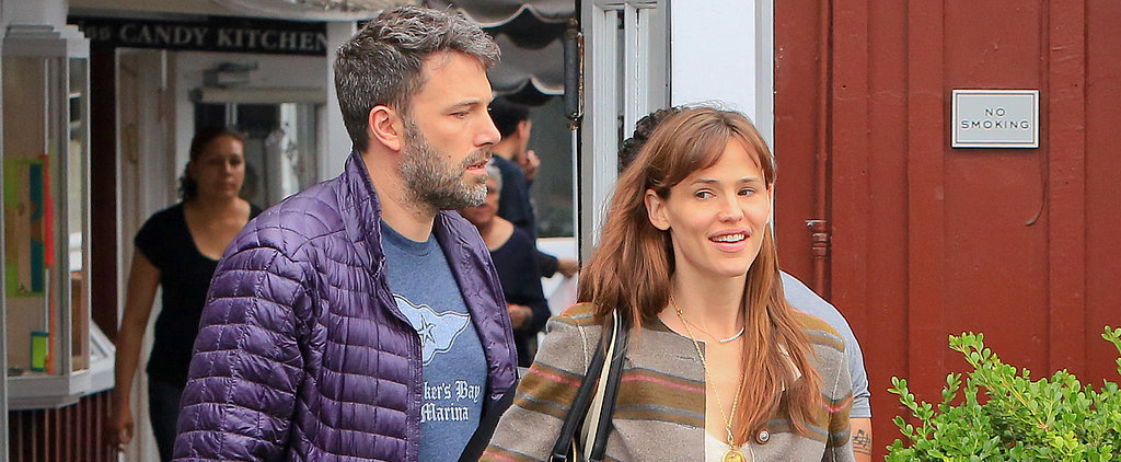 Jennifer Garner Gives a Happy Smile While Shopping With Ben Affleck and Seraphina