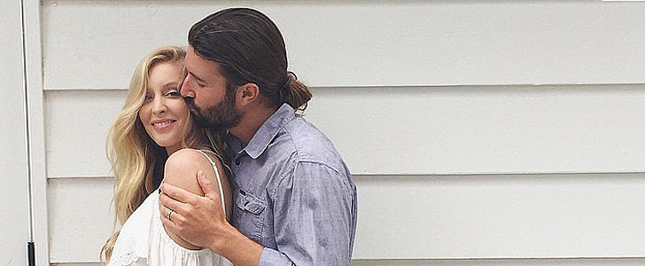 Leah and Brandon Jenner Reveal Their Baby's Gender With a Supersweet Pic