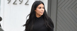 Kim Kardashian Doesn't Let a Baby Bump Stand in the Way of Sexy Outfits
