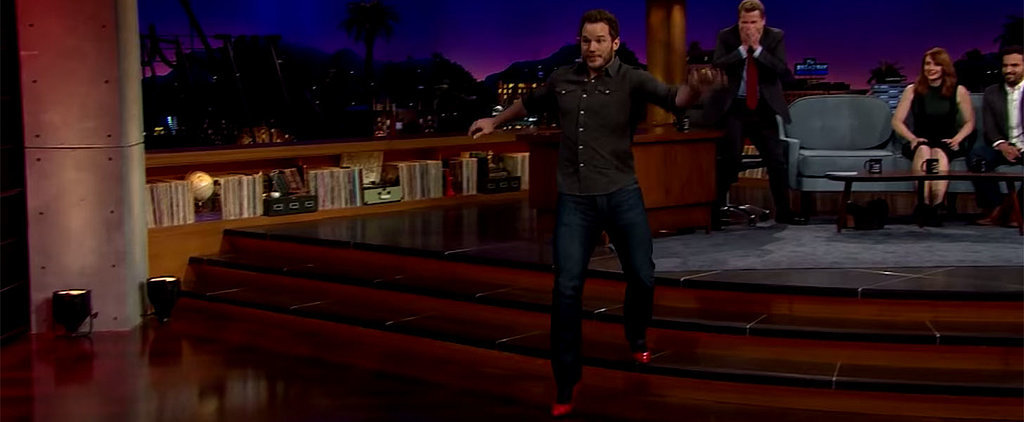 Fun Fact: Chris Pratt Is Ridiculously Good at Running in High Heels