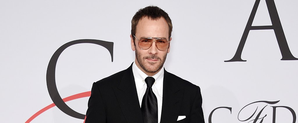 "Tom Ford Is on the Verge of ""Dadbod"" — and He Doesn't Care"