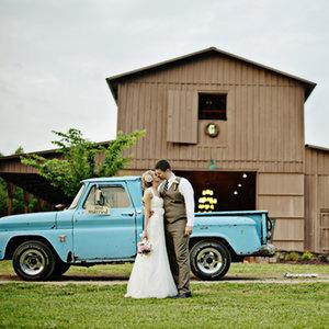 Rustic-Themed Wedding