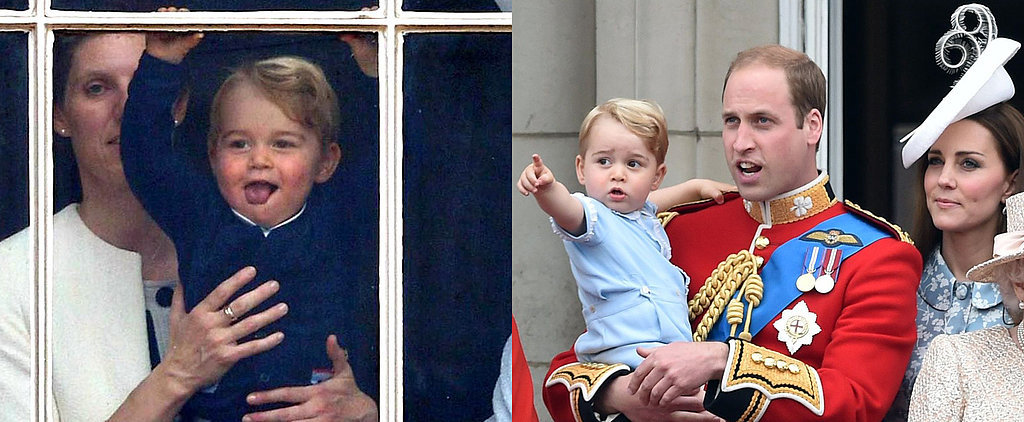 Prince George Steals the Spotlight on the Queen's Big Day