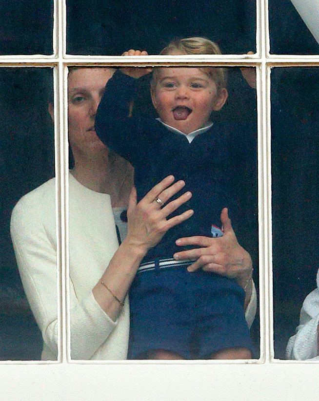 When He Wagged His Tongue During Trooping the Colour