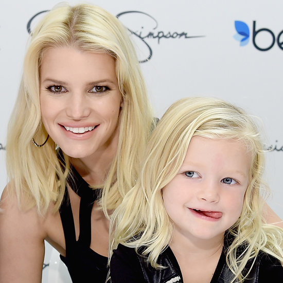 Jessica Simpson's Daughter Maxwell With CaCee Cobb's Baby