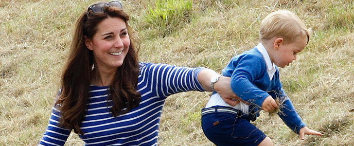 Prince George's Family Day Was All Sorts of Cute