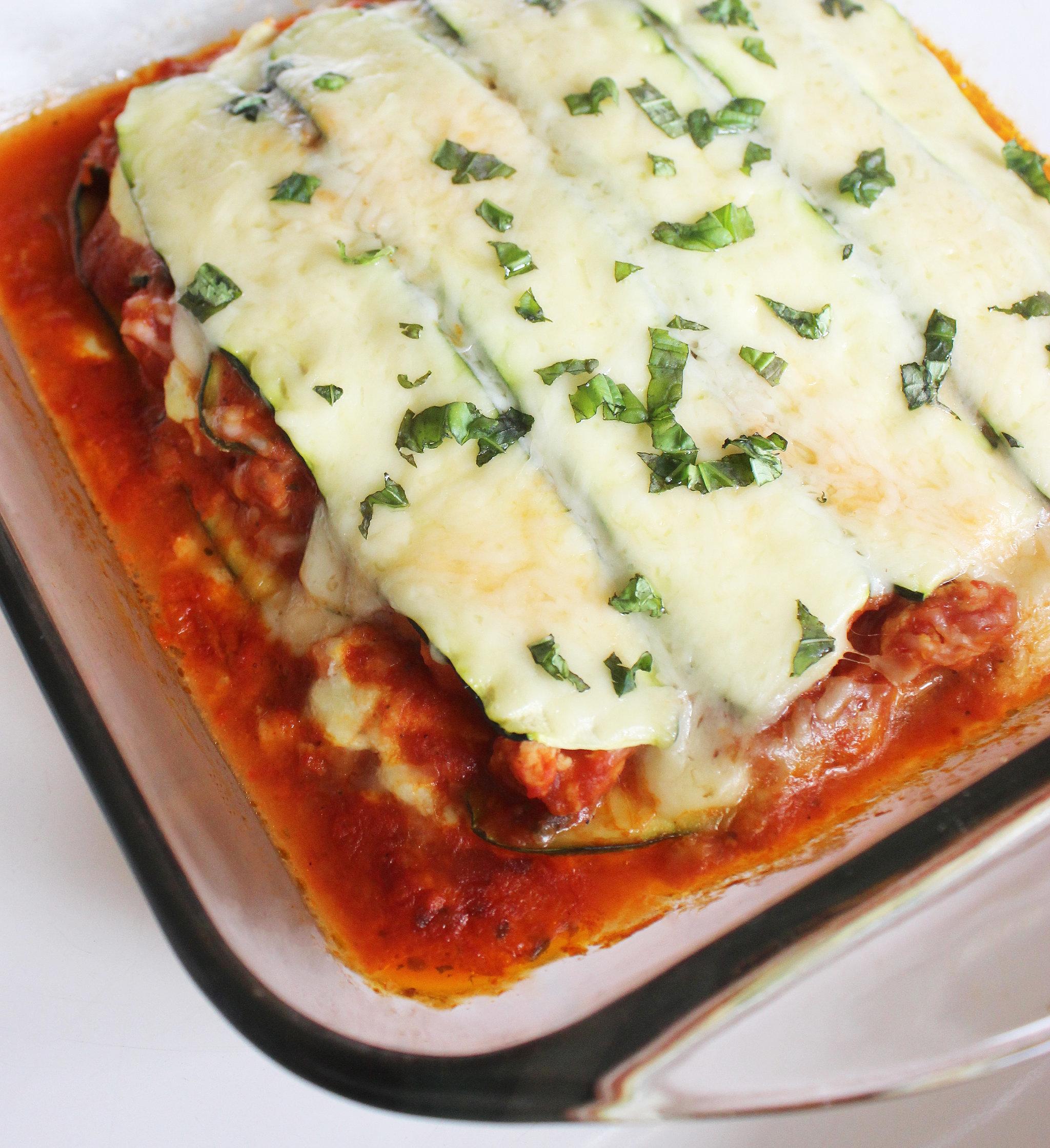 No-Noodle Zucchini Lasagna | POPSUGAR Fitness