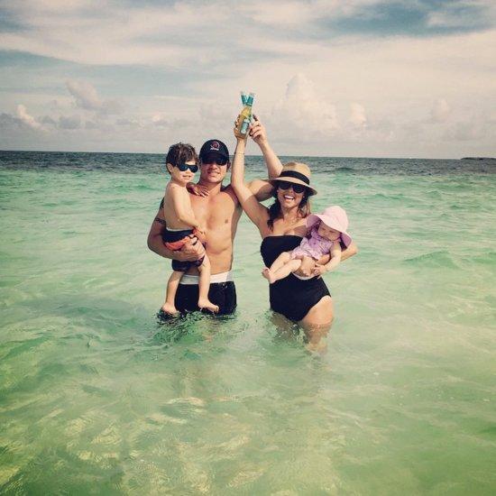 Nick Lachey Family Vacation Photo
