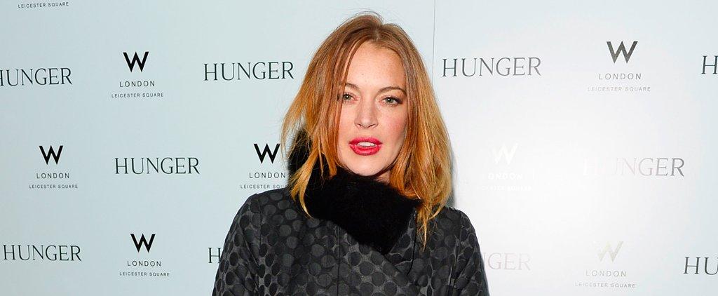 Lindsay Lohan's Latest Collaboration Is Full of Fringe