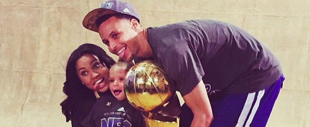 Steph Curry Celebrates His Warriors Win With His Adorable Family