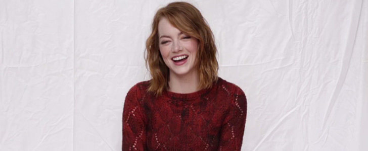 Watch Emma Stone Try to Choose Between Bradley Cooper and Ryan Gosling