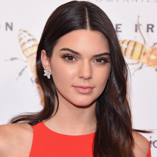 Kendall Jenner's Red Dress at the Fragrance Awards
