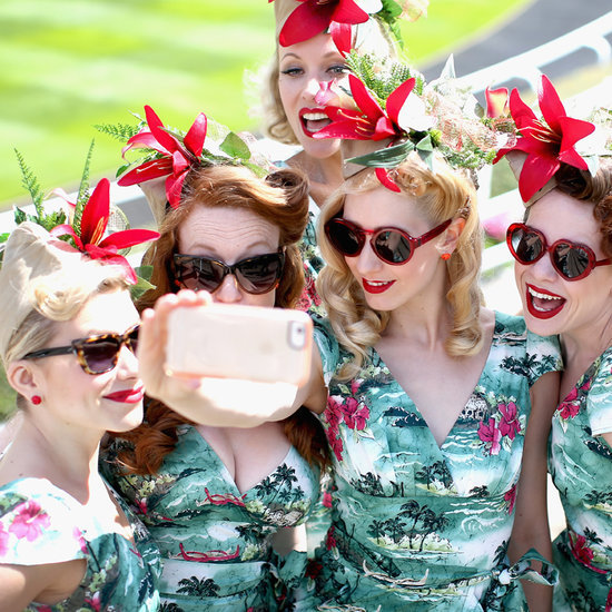 Royal Ascot Ladies Day Fashion Hats 2015