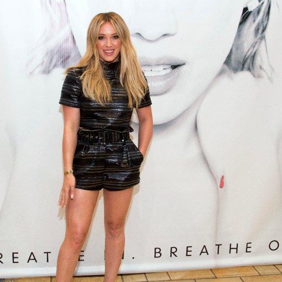 Hilary Duff Re-Creates Laguna Beach Scenes