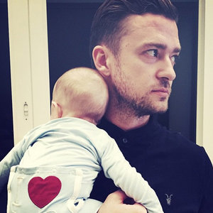 Justin Timberlake Photo of Son Silas on First Father's Day