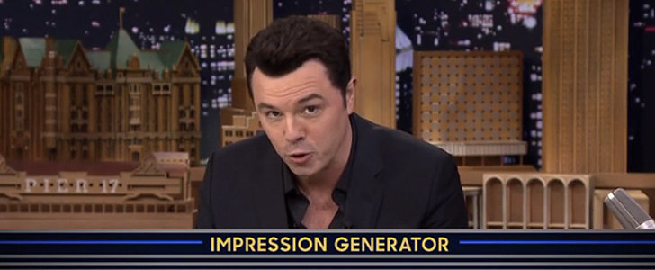 Seth MacFarlane Nails 1 Celebrity Impression After Another