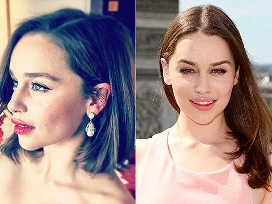 Emilia Clarke's Bob! Jennifer Lawrence's Super-Long Locks! Every Celeb Hair Change You Must See