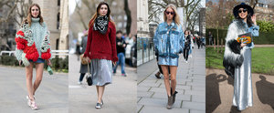 Street Style Snaps That Will Make You Want to Rock Metallic Before Dark