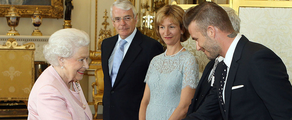 David Beckham Rubs Shoulders With the Royals (Again)