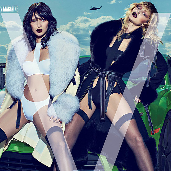 Gigi and Bella Hadid's First Cover Together Is Sexier Than We Ever Imagined