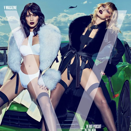 Gigi and Bella Hadid Go Supersexy For Their First Photo Shoot Together
