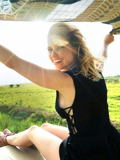 A Peek Inside Sophia Bush's Safari-Bound Suitcase
