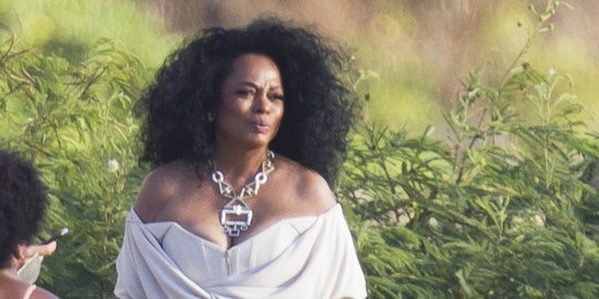 Diana Ross Dazzles As Mother-Of-The-Bride At Her Daughter's Wedding