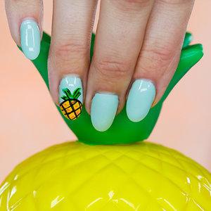 Pineapple Nail Art | Tutorial