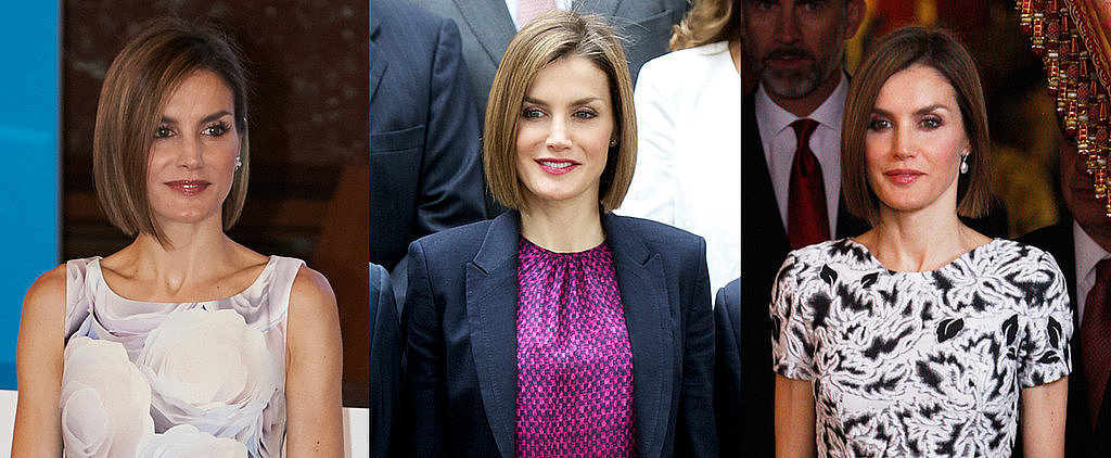 9 Times Queen Letizia Embraced Prints and Totally Rocked Them