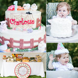 Charlotte's Web Comes Alive in This Sweet First Birthday Bash