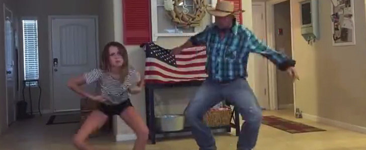 Watch This Cowboy Dad Channel His Inner Hip-Hop Alongside His Daughter