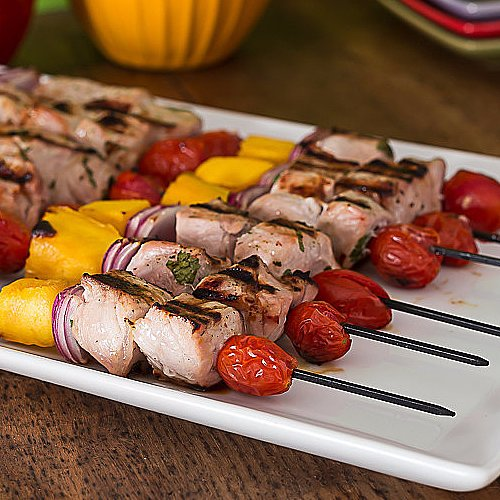 These Pork Skewers With Habanero Sauce Add Spice to Your Fourth of July