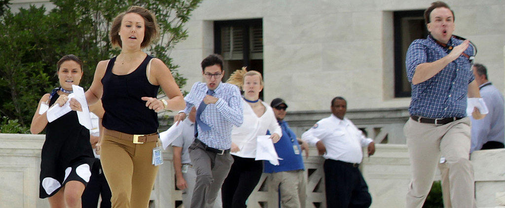 Behold the Best, Most Perfect Picture From the Supreme Court's Big Day