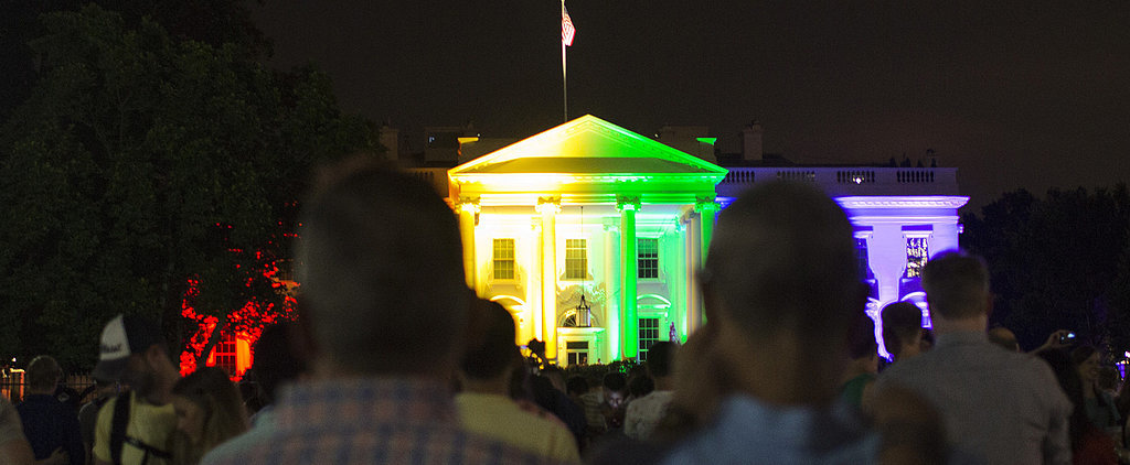 The White House Was Lit Like a Rainbow — and the Pictures Will Take Your Breath Away