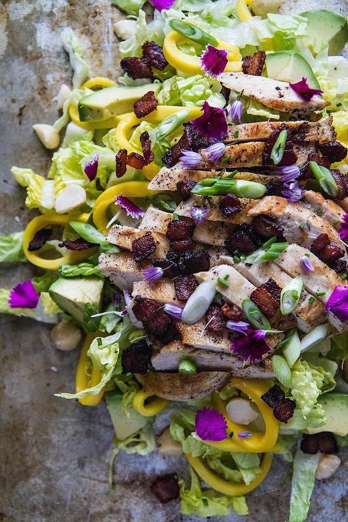 Hawaiian Chicken Chopped Salad