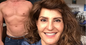 Nia Vardalos and (Shirtless) John Corbett Wrap 'My Big Fat Greek Wedding 2'