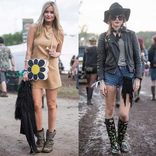 Glastonbury Festival 2015 Street Style Fashion
