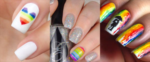 Add Some Color to Your Summer Style With Rainbow Nail Art