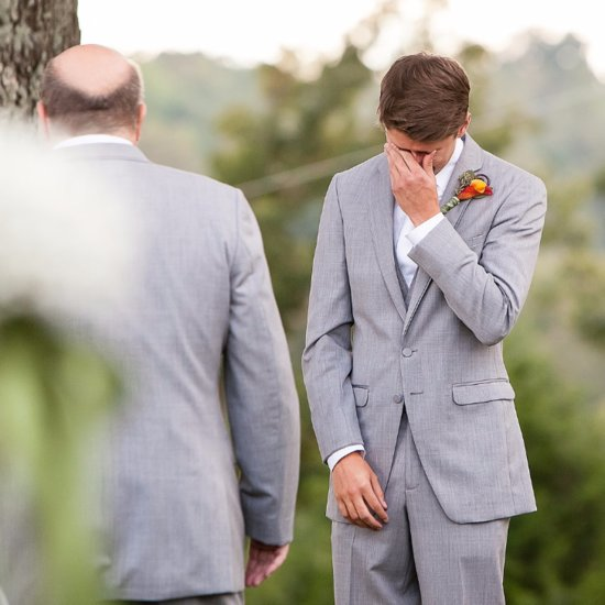 The Groom Openly Sobs When He Sees the Bride — You Have to Watch It