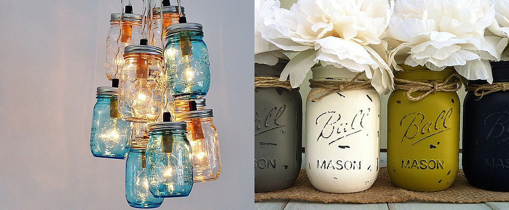 20+ Gorgeous Ways That Real Girls Are Using Mason Jars at Home