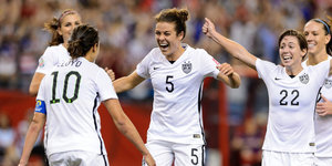 U.S.A. Beats Germany 2-0 To Advance To Women's World Cup Final